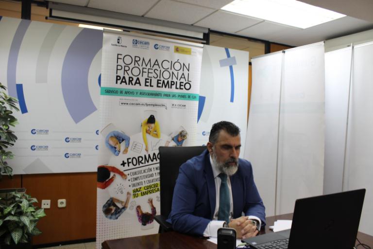 Charla informativa sobre Formación Profesional para el Empleo realizado en Guadalajara