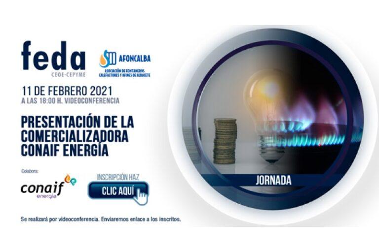 Jornada de presentación de la comercializadora Conaif Energía