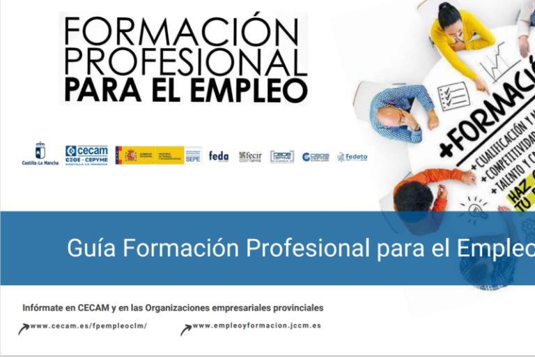 Charla Formación Profesional para el Empleo en Cuenca