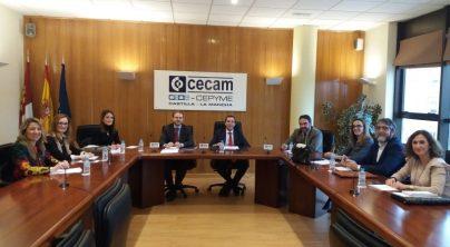 CECAM asesoró en 2020 a 500 empresas de la región sobre prevención de riesgos laborales