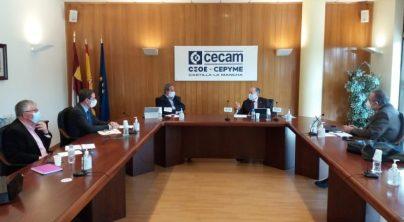 El Presidente de CECAM se reúne con el Presidente del Consejo Social de la UCLM para abordar la colaboración entre universidad y empresa