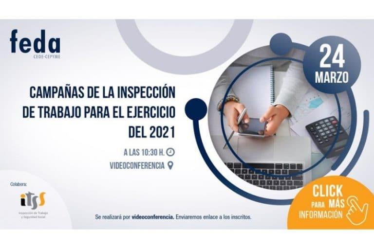 Campañas de la inspección de trabajo para el ejercicio 2021