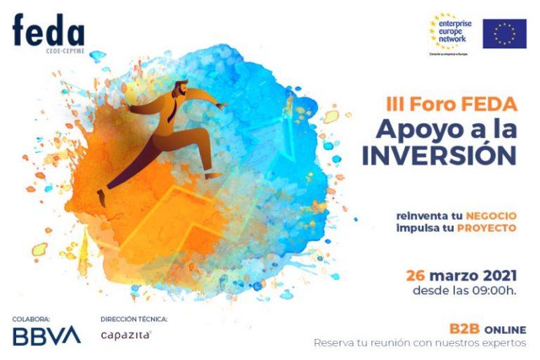 III Foro FEDA a la inversión 2021