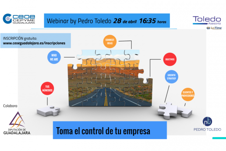Webinar: Toma el control de tu empresa