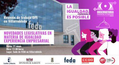 Reunión de trabajo: Novedades legislativas en materia de igualdad experiencia empresarial