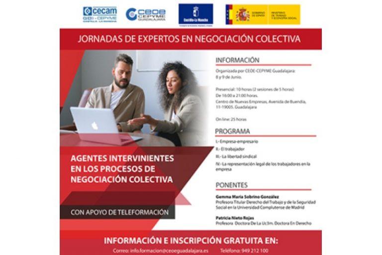 Jornadas de expertos en negociación colectiva: Agentes intervinientes en los procesos de negociación colectiva