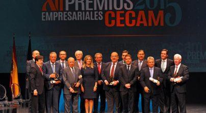 CECAM reconoce la contribución esencial de los empresarios al desarrollo económico y social en sus XII Premios Empresariales
