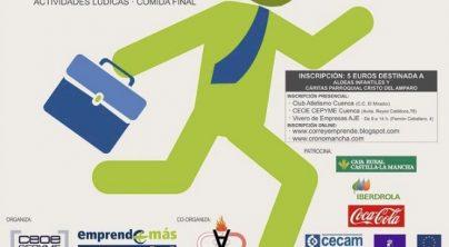 Emprende+más y CEOE-CEPYME Cuenca promoverán el emprendimiento con una carrera popular